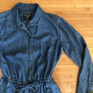 Abercrombie denim dress